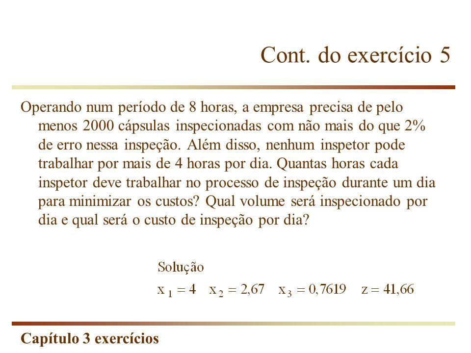 Cont. do exercício 5
