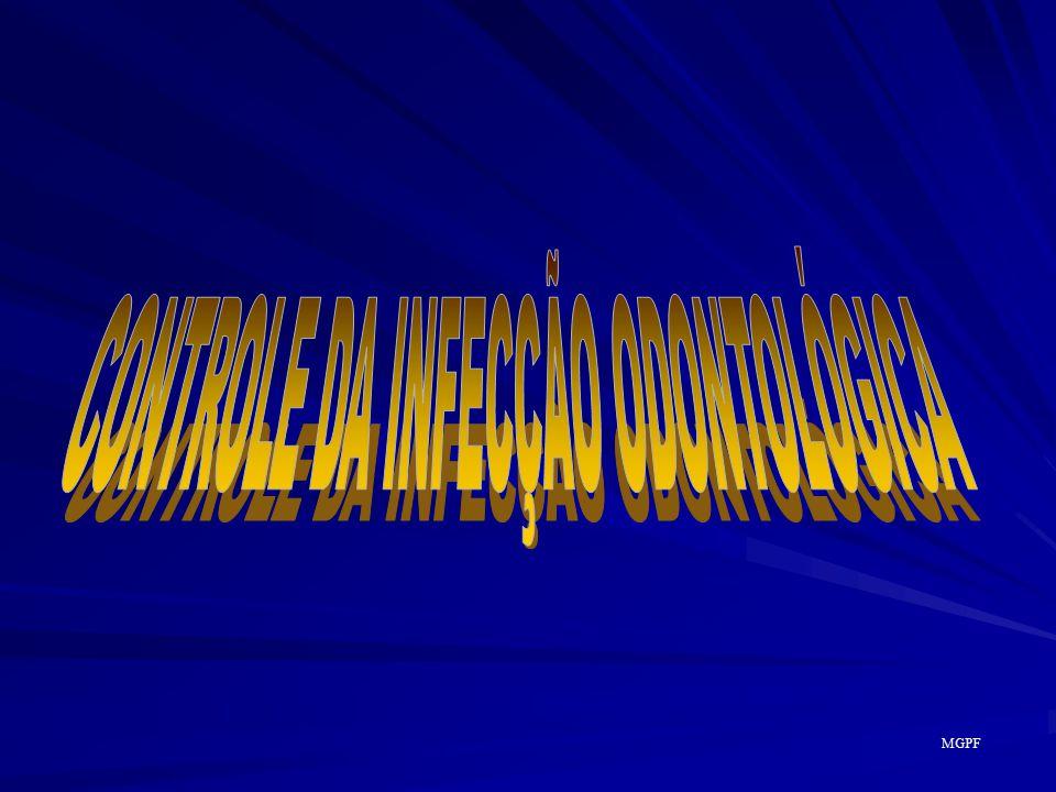 CONTROLE DA INFECÇÃO ODONTOLÓGICA