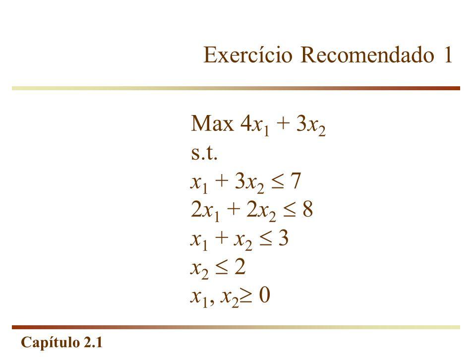 Exercício Recomendado 1