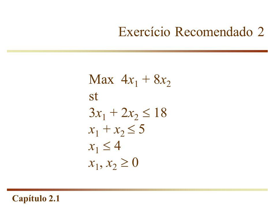 Exercício Recomendado 2