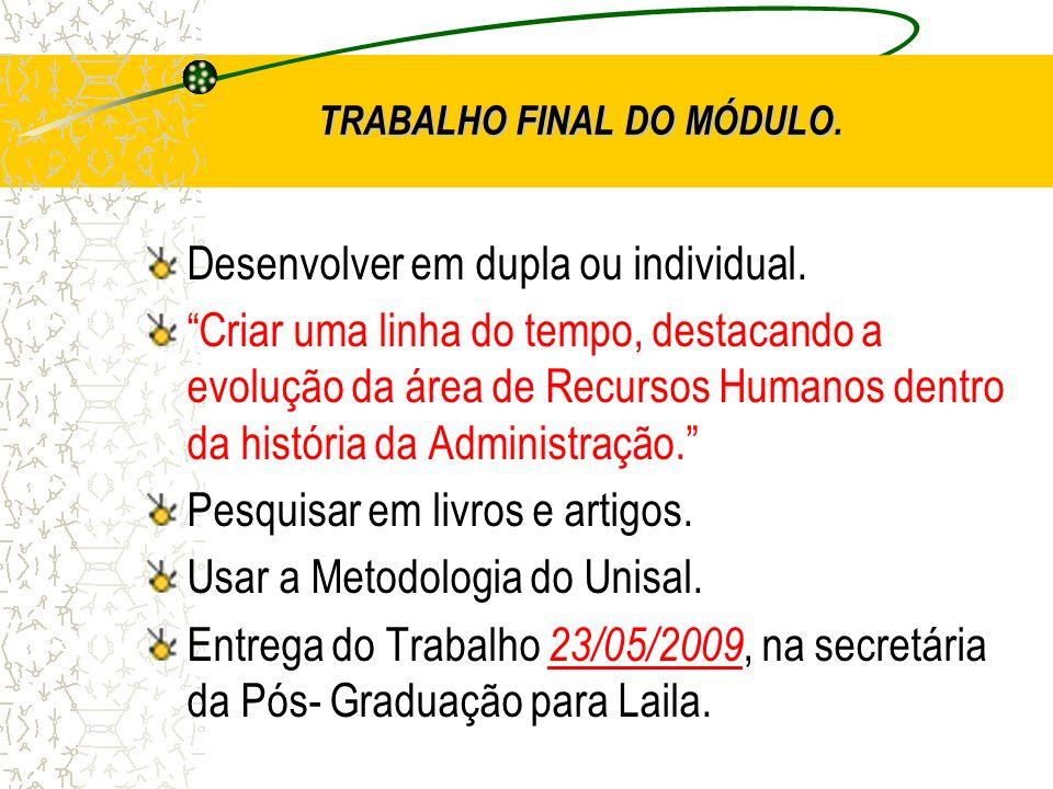 TRABALHO FINAL DO MÓDULO.