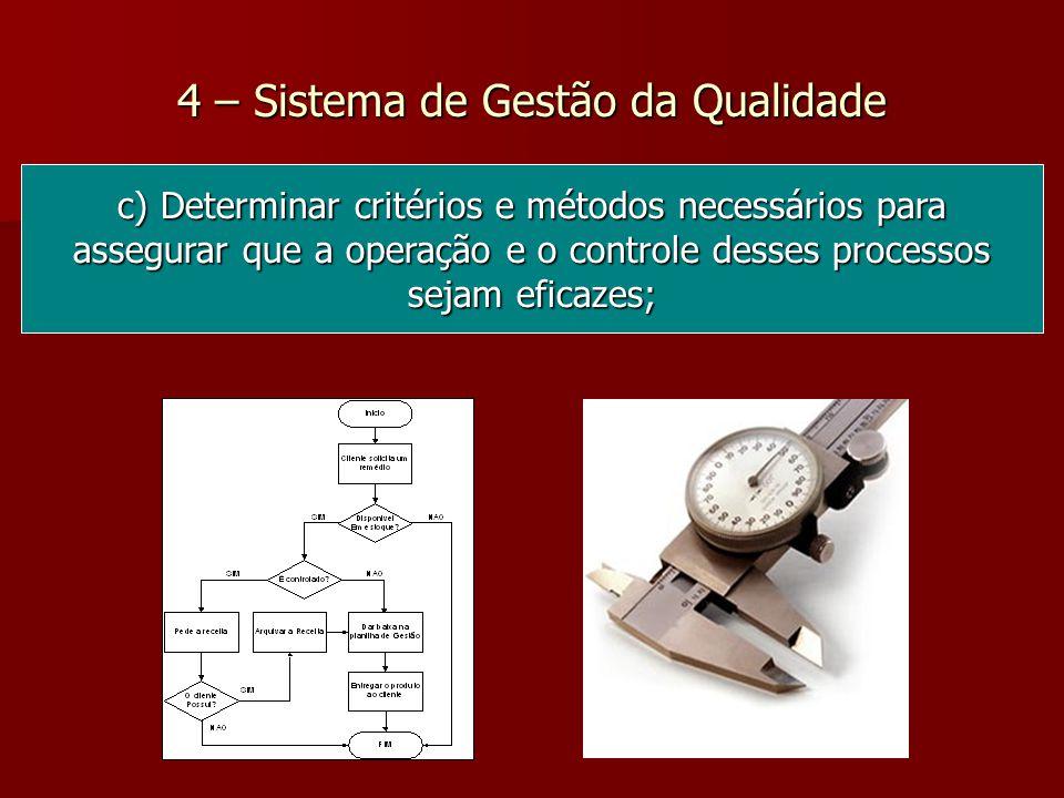 4 – Sistema de Gestão da Qualidade