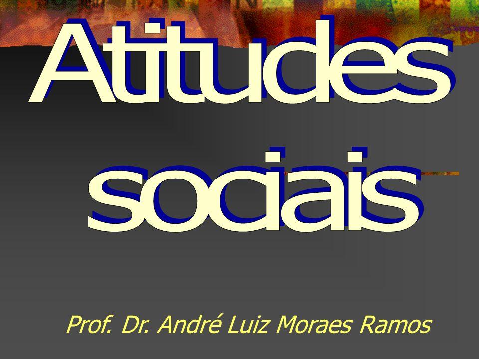 Atitudes sociais Prof. Dr. André Luiz Moraes Ramos