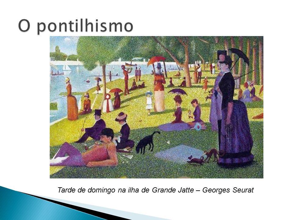 O pontilhismo Tarde de domingo na ilha de Grande Jatte – Georges Seurat