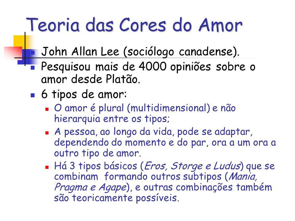 Teoria das Cores do Amor