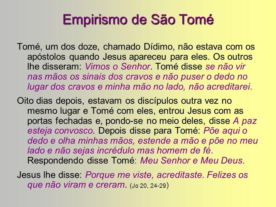 Empirismo de São Tomé