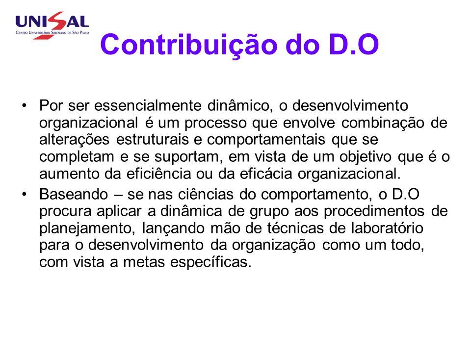 Contribuição do D.O