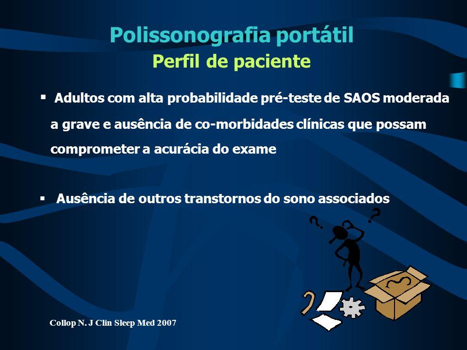 Polissonografia portátil