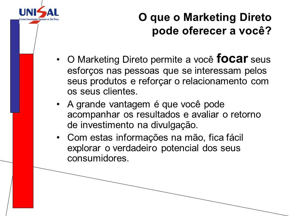 O que o Marketing Direto pode oferecer a você