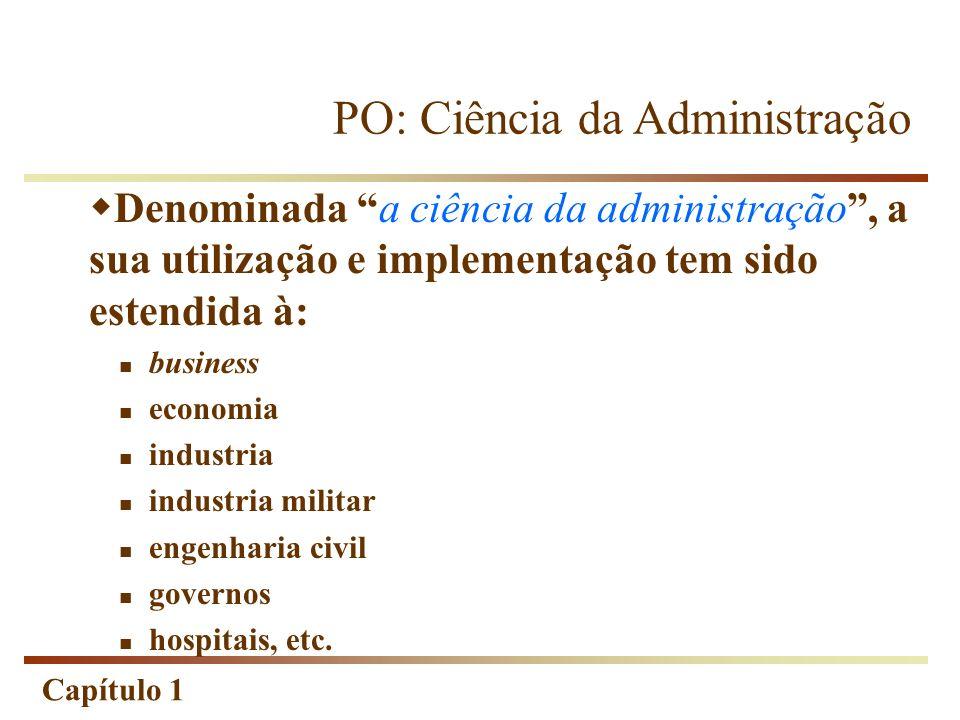 PO: Ciência da Administração