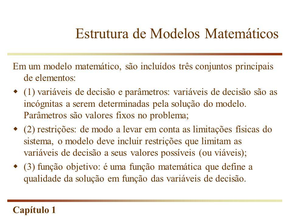 Estrutura de Modelos Matemáticos