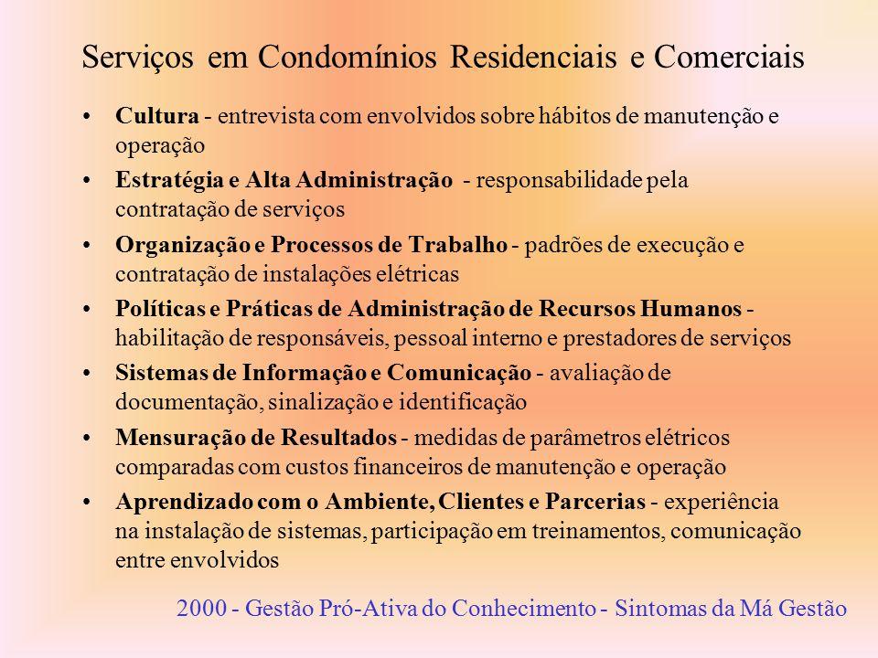 Serviços em Condomínios Residenciais e Comerciais
