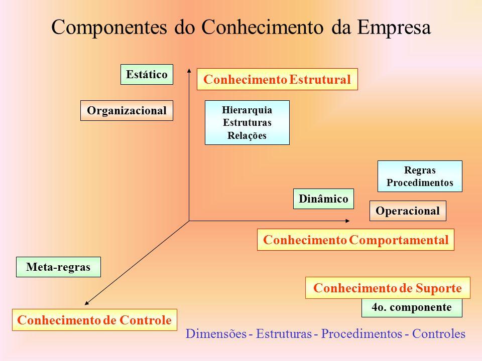 Componentes do Conhecimento da Empresa
