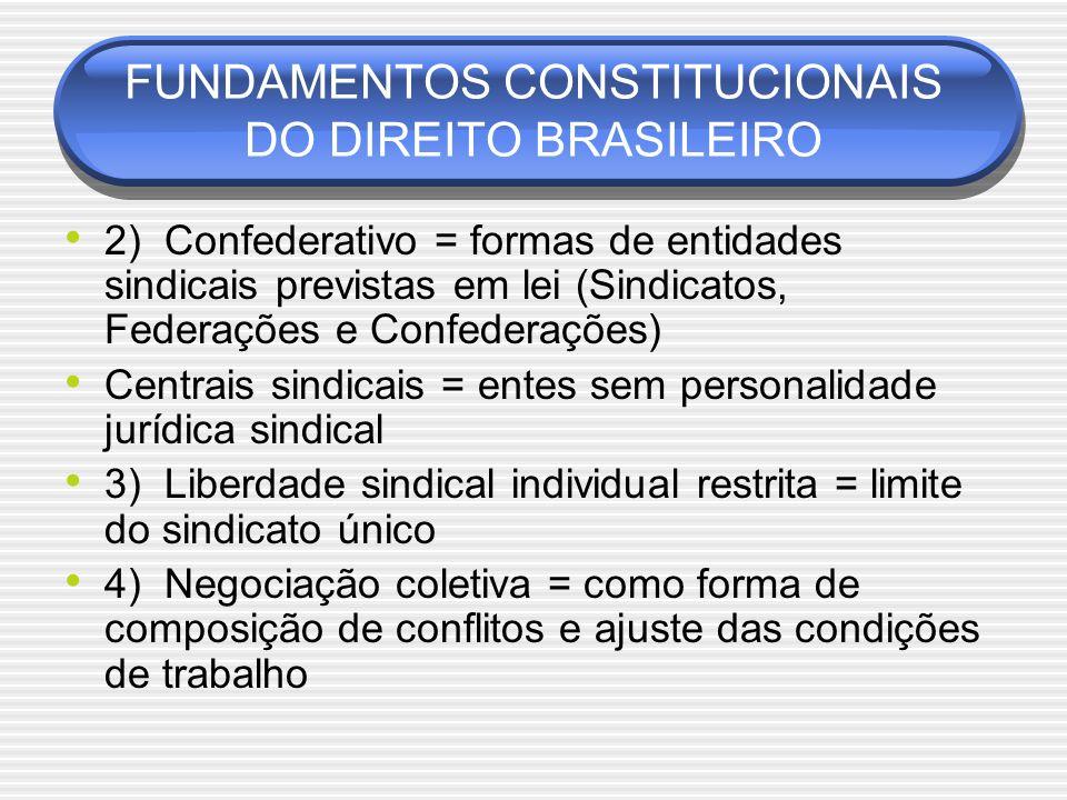 FUNDAMENTOS CONSTITUCIONAIS DO DIREITO BRASILEIRO
