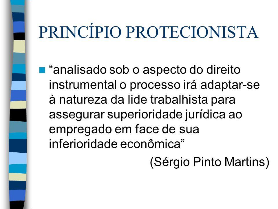 PRINCÍPIO PROTECIONISTA