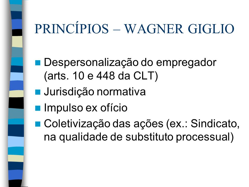 PRINCÍPIOS – WAGNER GIGLIO