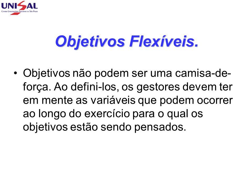 Objetivos Flexíveis.