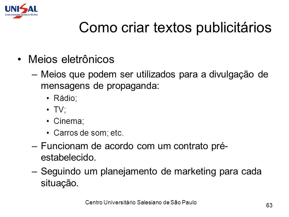 Como criar textos publicitários
