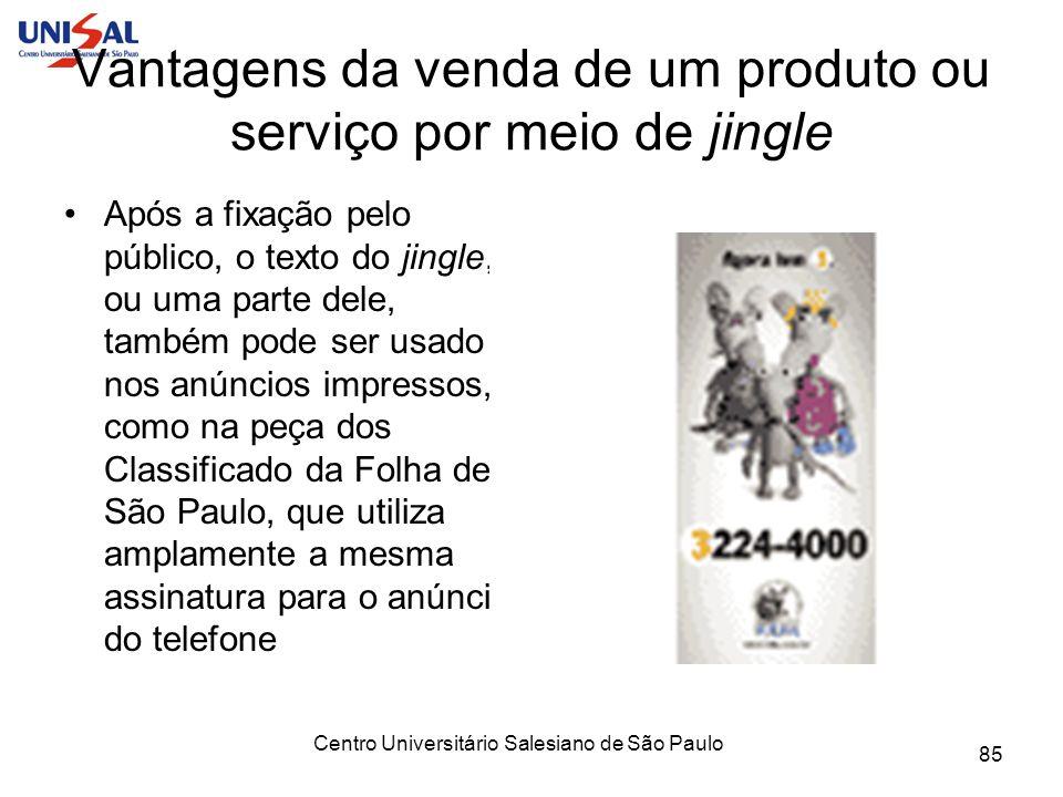 Vantagens da venda de um produto ou serviço por meio de jingle