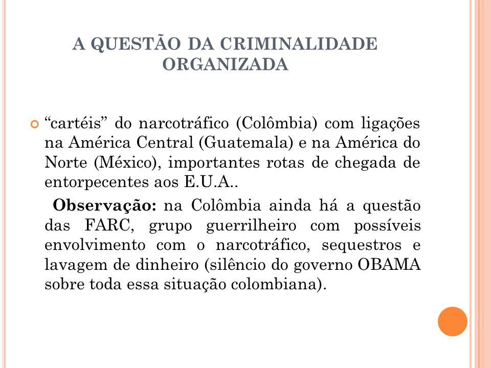 A QUESTÃO DA CRIMINALIDADE ORGANIZADA