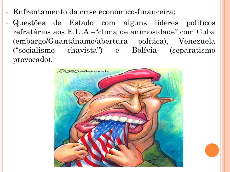 Enfrentamento da crise econômico-financeira;
