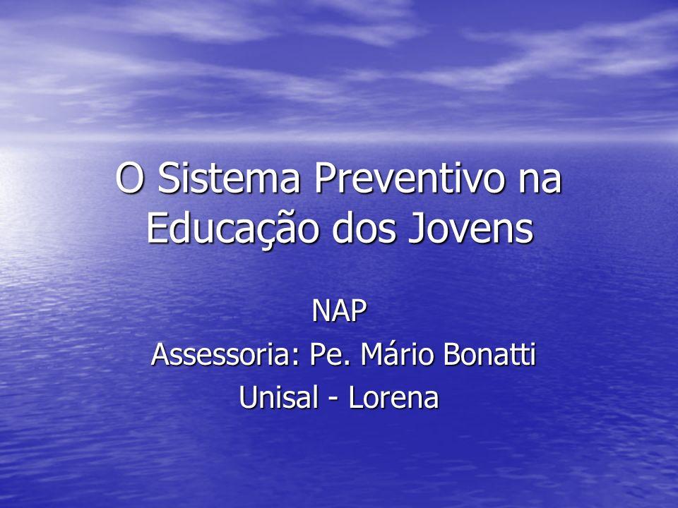 O Sistema Preventivo na Educação dos Jovens