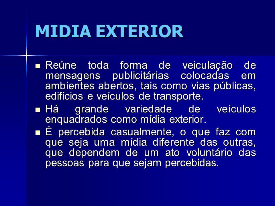 MIDIA EXTERIOR