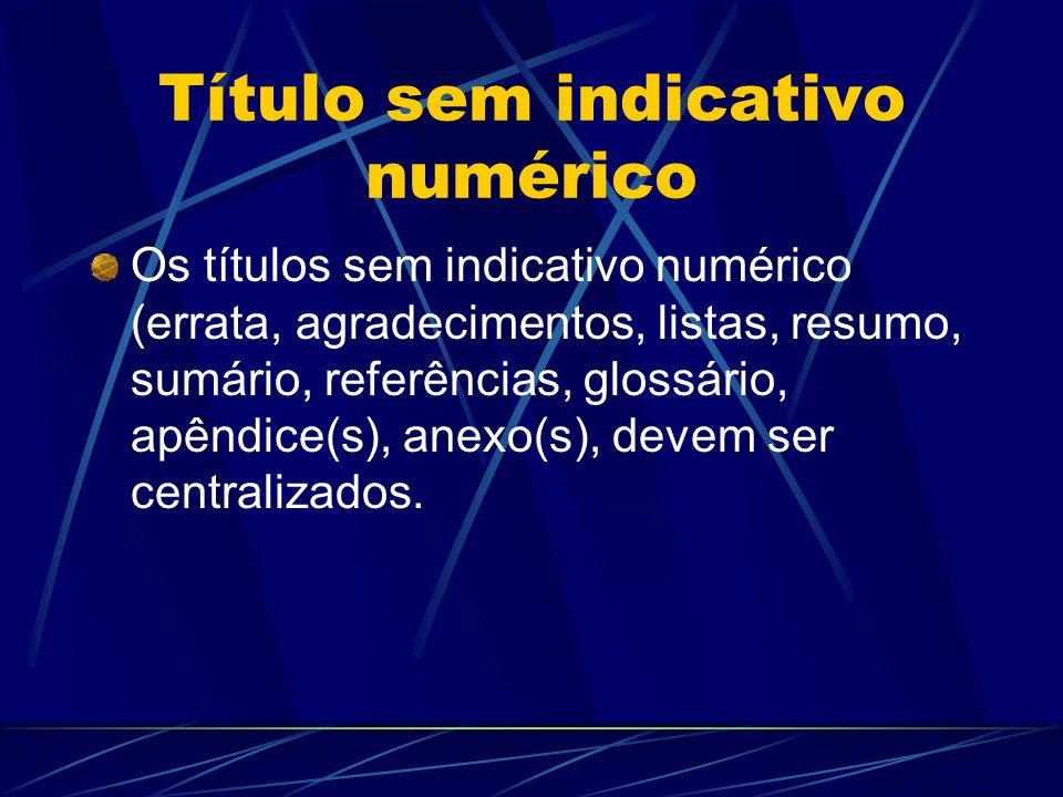 Título sem indicativo numérico