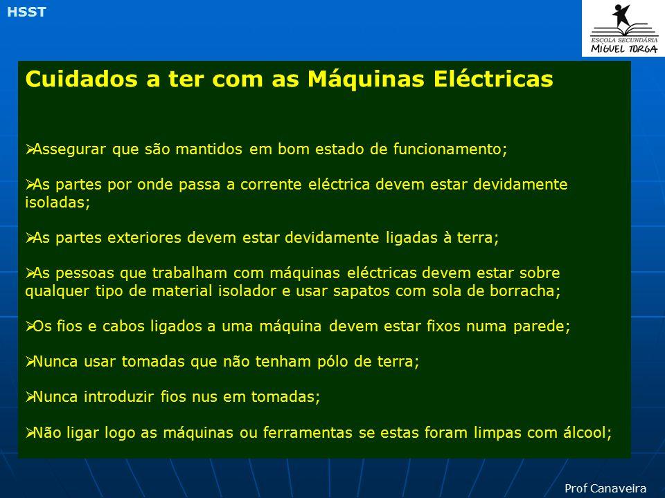 Cuidados a ter com as Máquinas Eléctricas