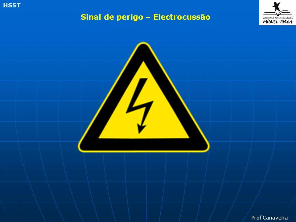 Sinal de perigo – Electrocussão