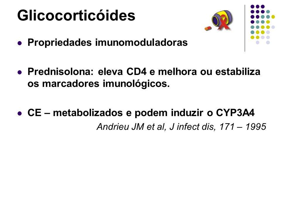 Glicocorticóides Propriedades imunomoduladoras