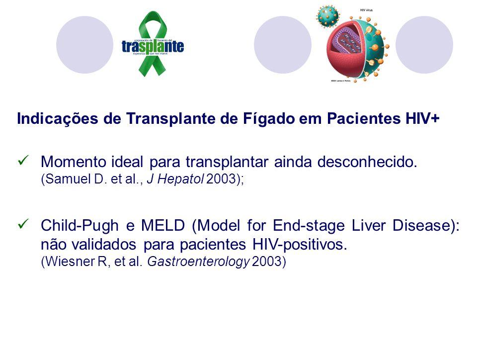 Indicações de Transplante de Fígado em Pacientes HIV+