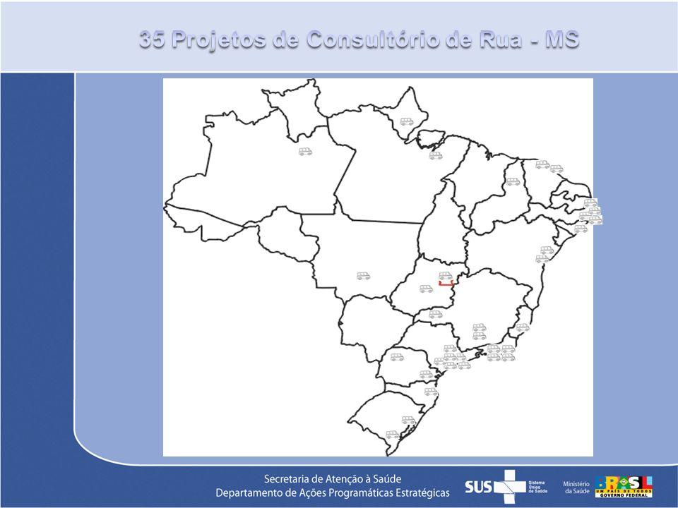 35 Projetos de Consultório de Rua - MS