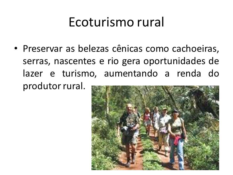 Ecoturismo rural