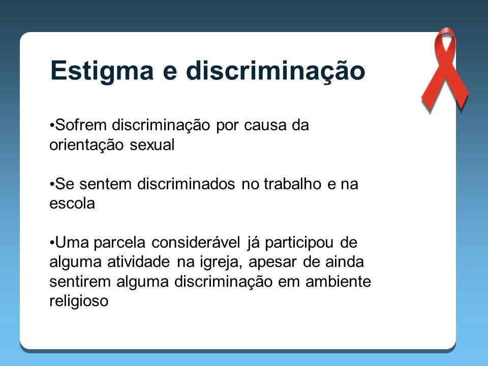 Estigma e discriminação