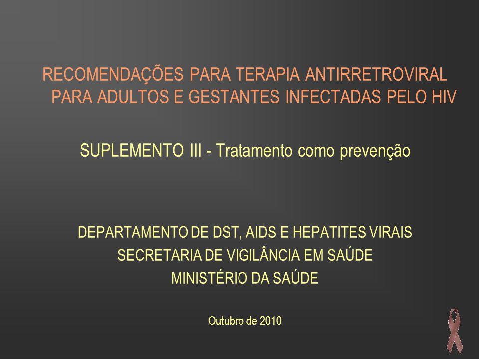 SUPLEMENTO III - Tratamento como prevenção