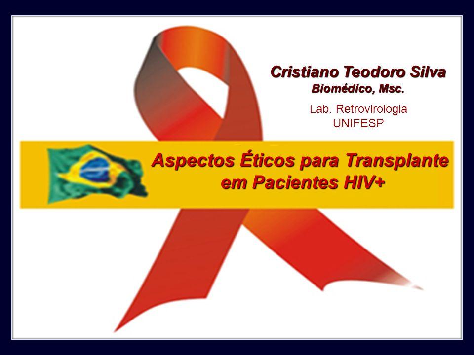 Cristiano Teodoro Silva Aspectos Éticos para Transplante