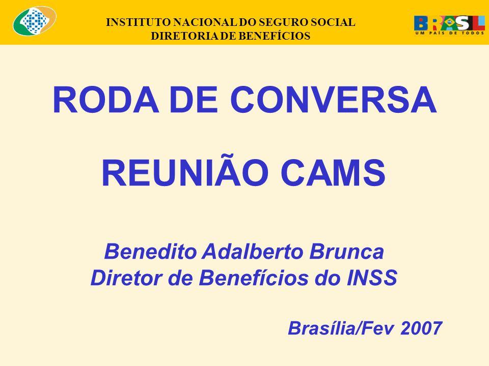 RODA DE CONVERSA REUNIÃO CAMS