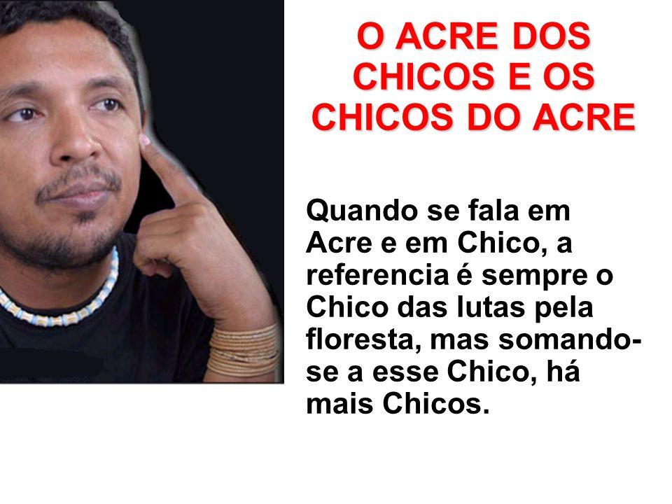 O ACRE DOS CHICOS E OS CHICOS DO ACRE
