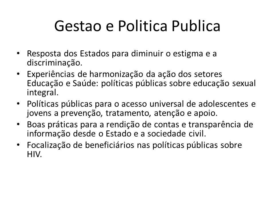 Gestao e Politica Publica