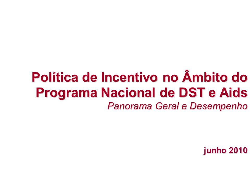 Política de Incentivo no Âmbito do Programa Nacional de DST e Aids