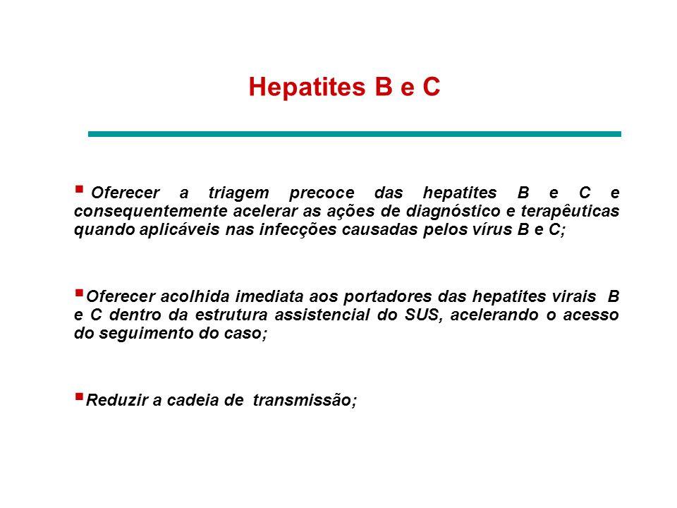 Hepatites B e C