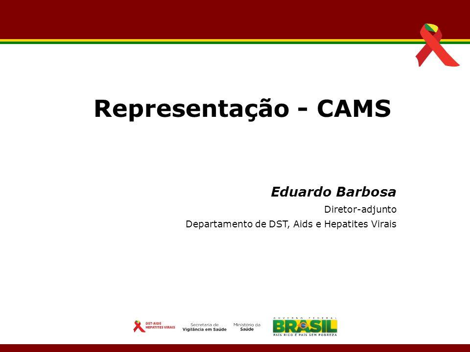 Representação - CAMS Eduardo Barbosa Diretor-adjunto