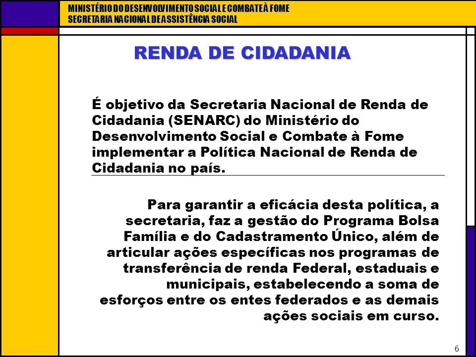 RENDA DE CIDADANIA