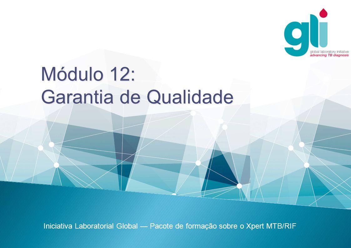 Módulo 12: Garantia de Qualidade