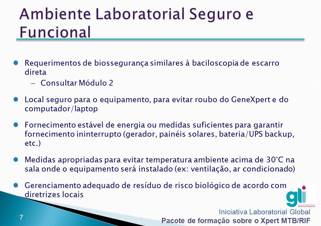 Ambiente Laboratorial Seguro e Funcional