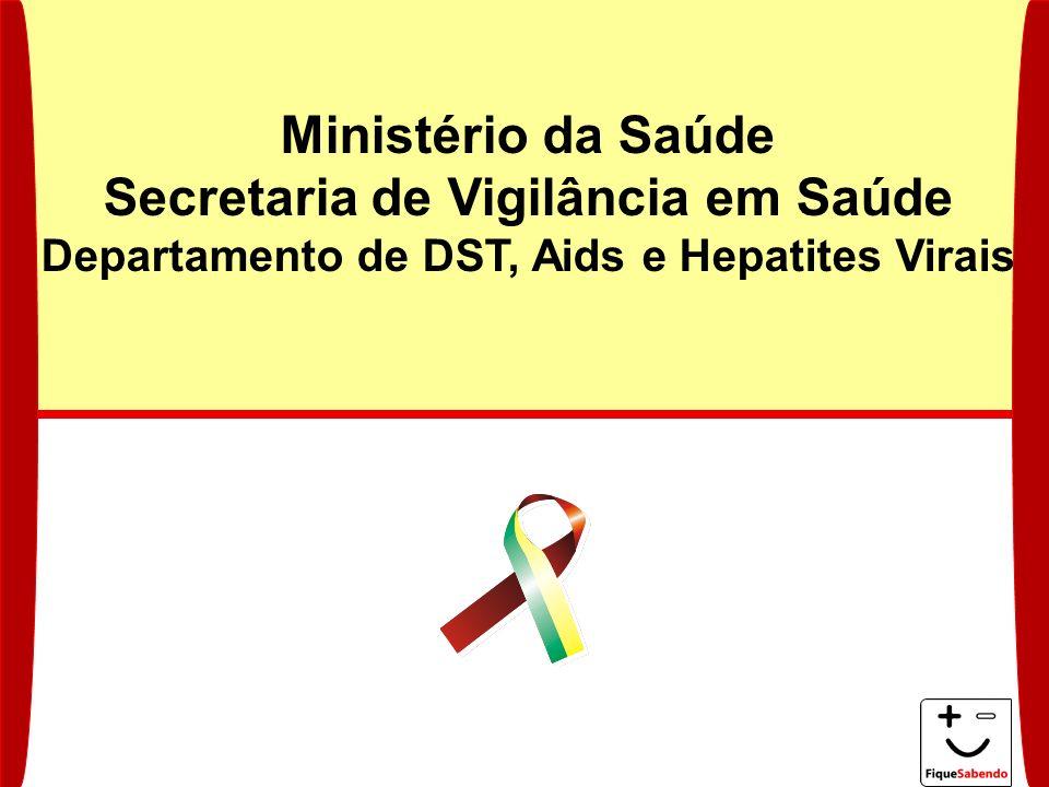Ministério da Saúde Secretaria de Vigilância em Saúde Departamento de DST, Aids e Hepatites Virais