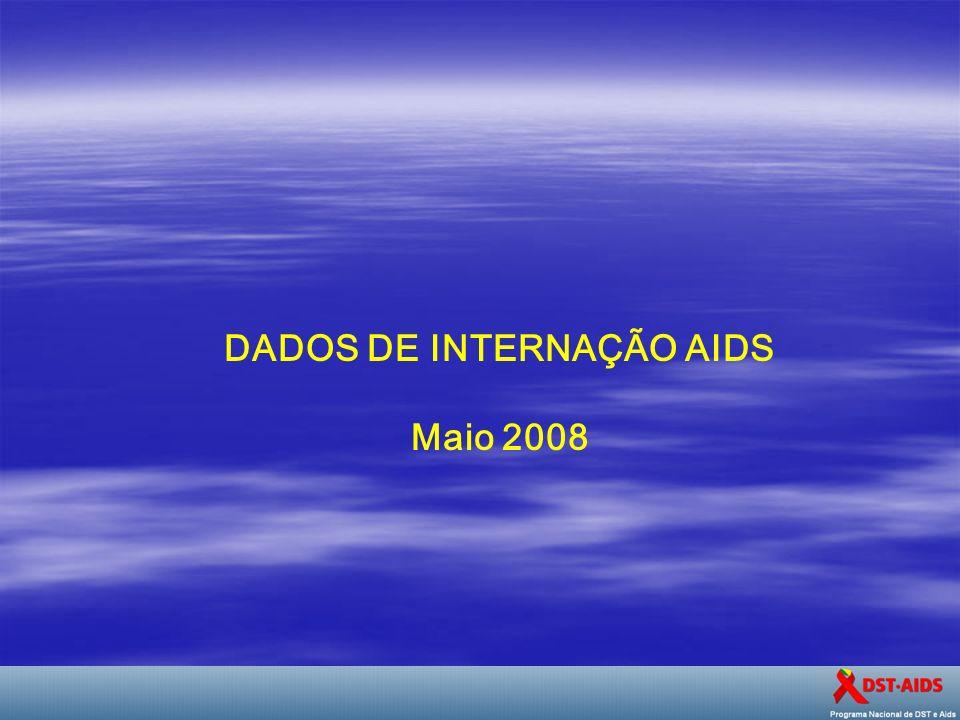 DADOS DE INTERNAÇÃO AIDS
