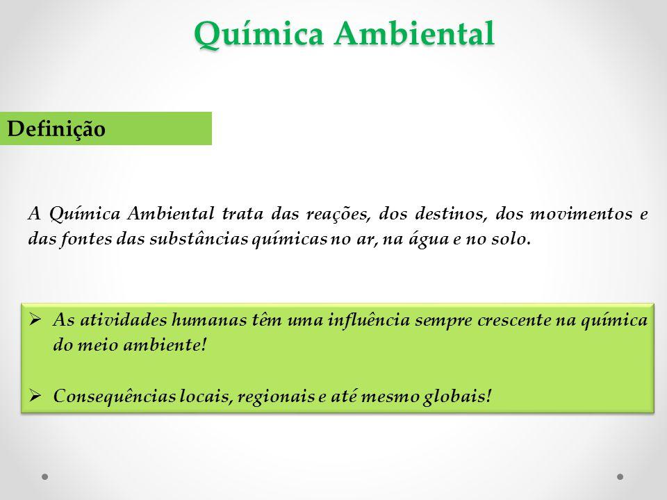 Química Ambiental Definição