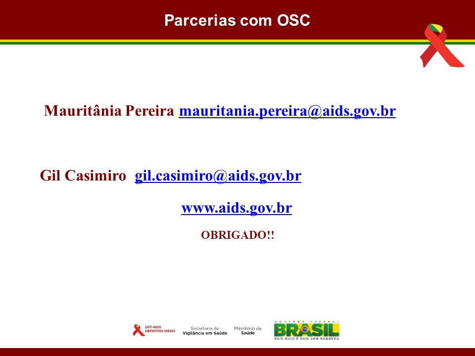 Mauritânia Pereira mauritania.pereira@aids.gov.br